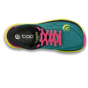 Topo Athletic Ultrafly 3 Løbesko Damer, emerald/fuchsia